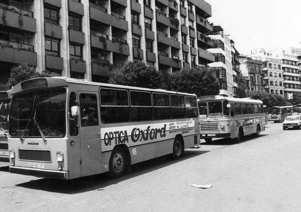 Aquellos maravillosos años (II): Publicidad en autobuses