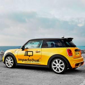 Publicidad en coches particulares, publicidad en tu coche, gana dinero con tu coche.