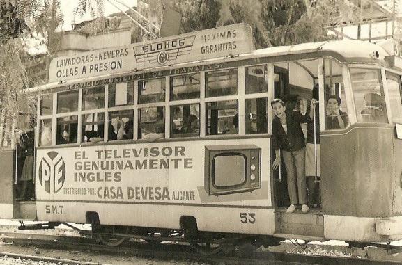Aquellos maravillosos años (I): Publicidad en tranvías