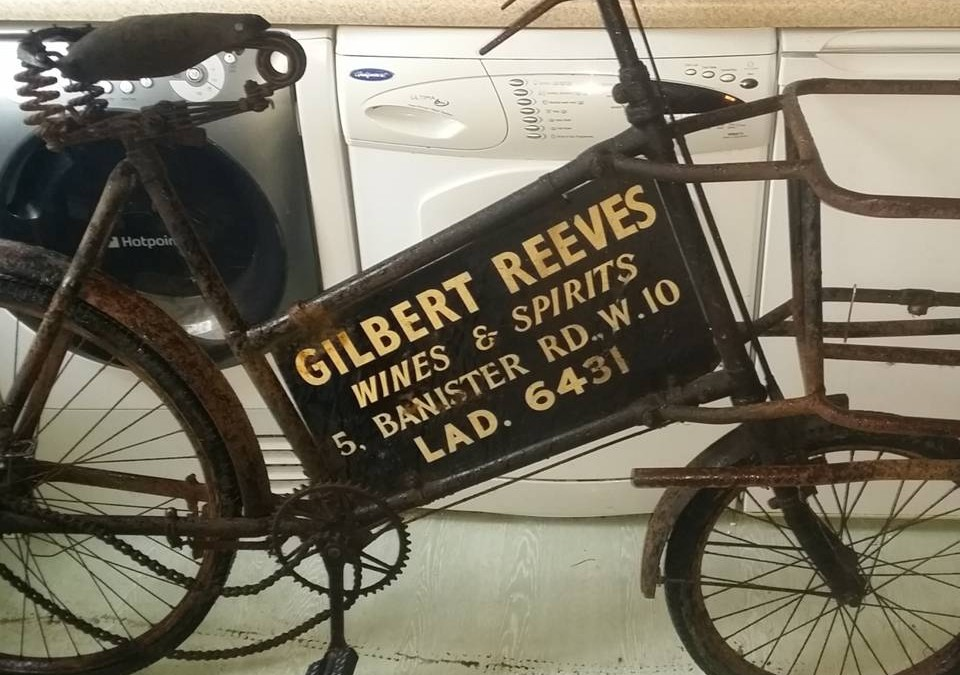 Aquellos maravillosos años (III): publicidad en bicicletas