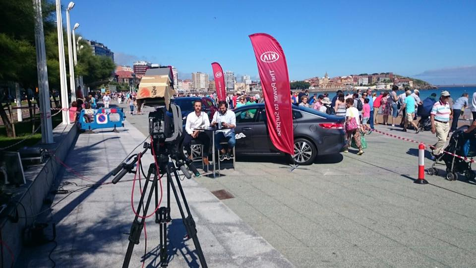 TV events ImpactoDual. Festival aéreo de Gijón 2016